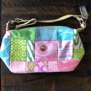 vitange coach patchwork small purse